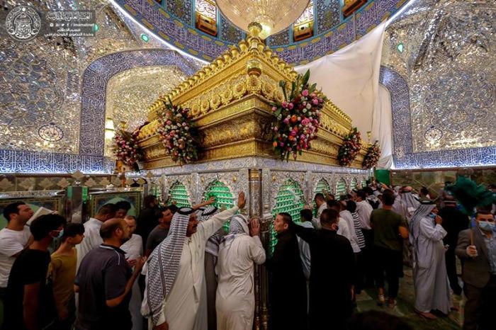 حال و هوای حرم مولانا امیرالمؤمنین امام علی علیه السلام در روز عید غدیر
