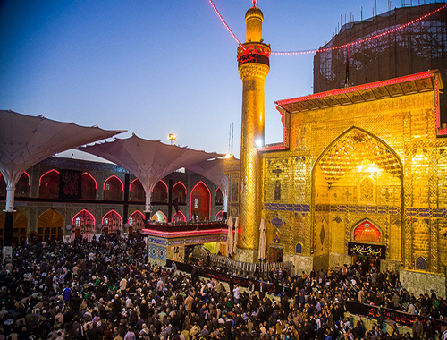 Holy Shrine of Imam Ali (A.S) during Arbaeen