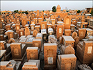 Wadi al-Salaam,world's biggest cemetery