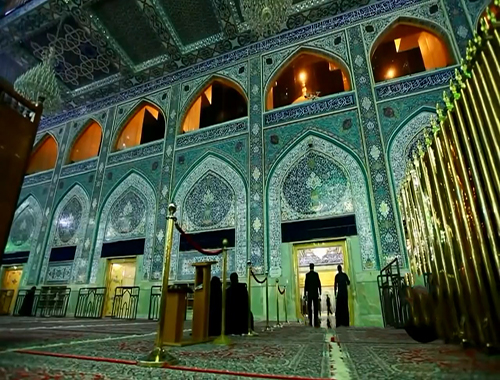 The Magnificent Shrine of Imam Hussain (A.S)