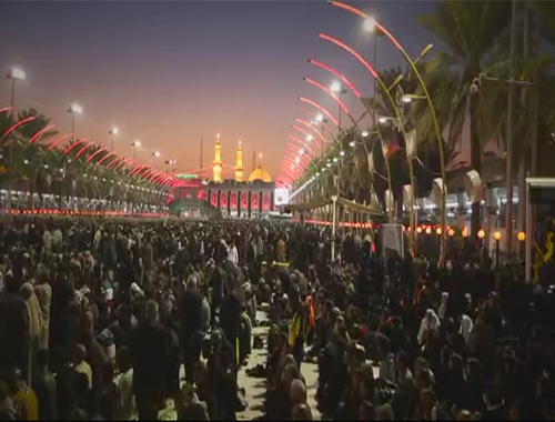 Karbala,In preparation for Arbaeen...
