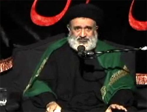 کلیپ سخنرانی (روضه مقتل سنگین) حجت الاسلام احمدی اصفهانی