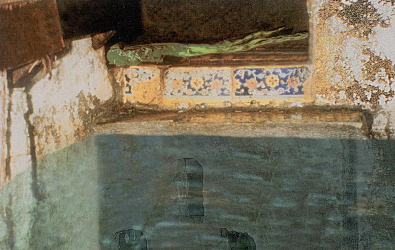 قبر حضرت عباس میان آب