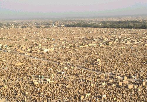 wadi-us-salaam-iraq-the-largest-cemetery-in-the-world-Duniya Ka Sabse Bada Kabrastaan